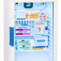 Labcold IntelliCold Glass Door 66L Pharmacy Fridge Digital lock